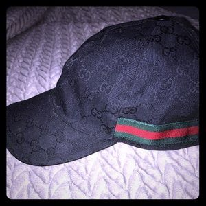 Gucci GG canvas hat